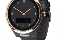 Navigil 580 onyx/rose gold strap buckled